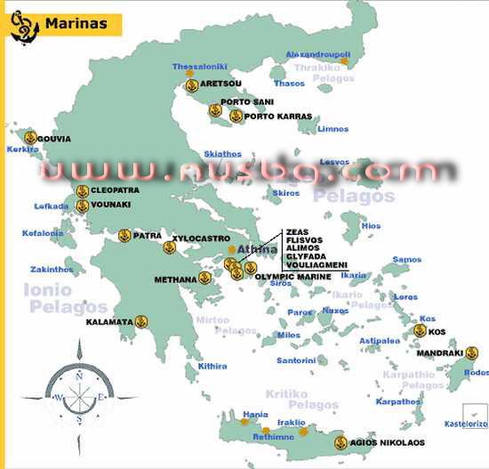 mapa grcke parga Grčka mape,Halkidiki ,Skiathos,Olimpska riviera , Parga, Tasos  mapa grcke parga