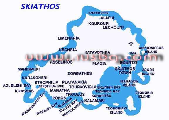 ios grcka mapa Grčka mape,Halkidiki ,Skiathos,Olimpska riviera , Parga, Tasos  ios grcka mapa
